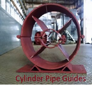 cylinder pipe guide