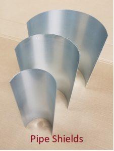 pipe shields