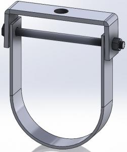 flat top clevis hanger