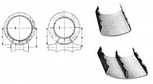 insulation saddles