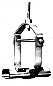 clevis hanger with insulation shield